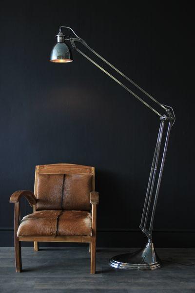 Industrial Floor Lamps. Industrial Task Floor Lamp From West Elm ...