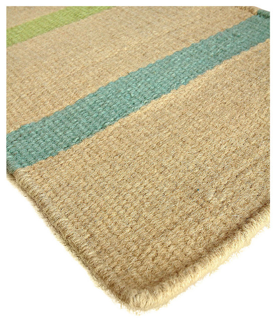 Bliss home design key largo wool berber stripe rug for Wool berber area rug