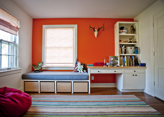 Bedroom Built Ins Modern Louisville By Rock Paper Hammer