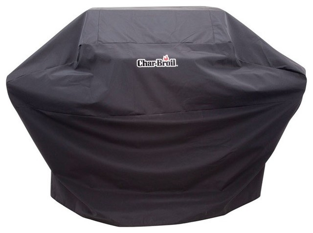 Char-Broil 2655579p04 Grill Cover, Black.