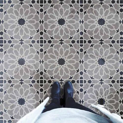 Moroccan Magic Tile Stencil - DIY Cement Tiles - Moroccan ...