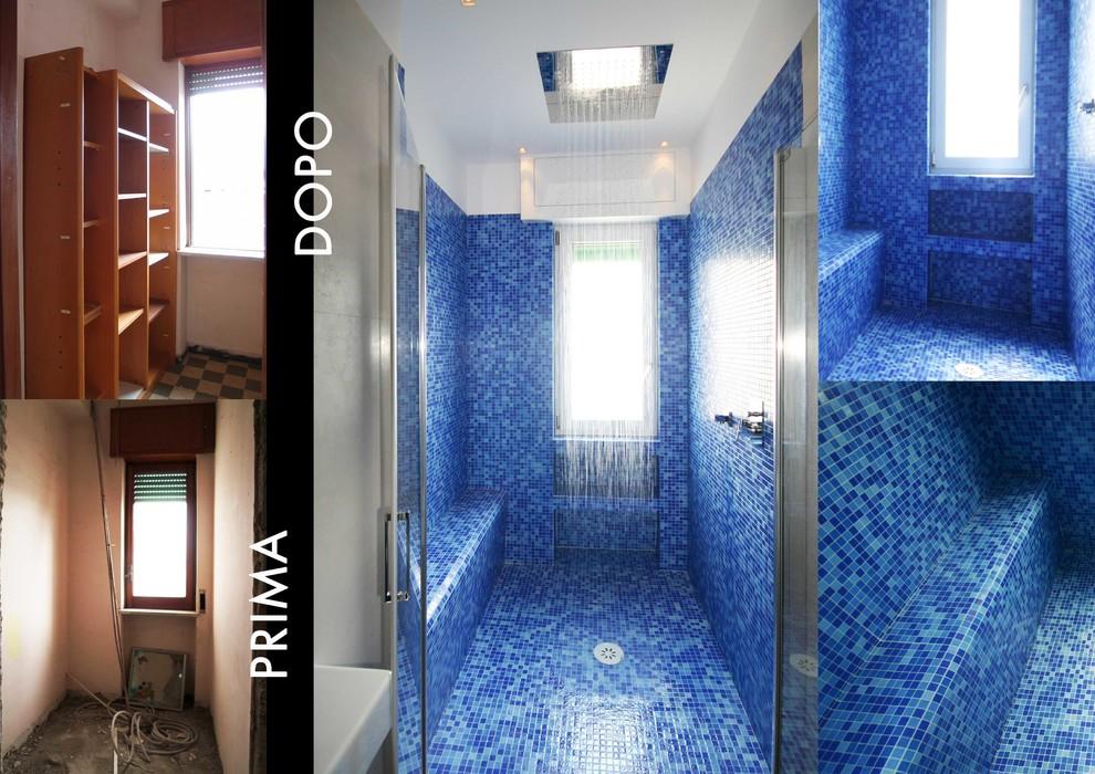 Da ripostiglio a doccia-appartamento a Pomigliano -Napoli
