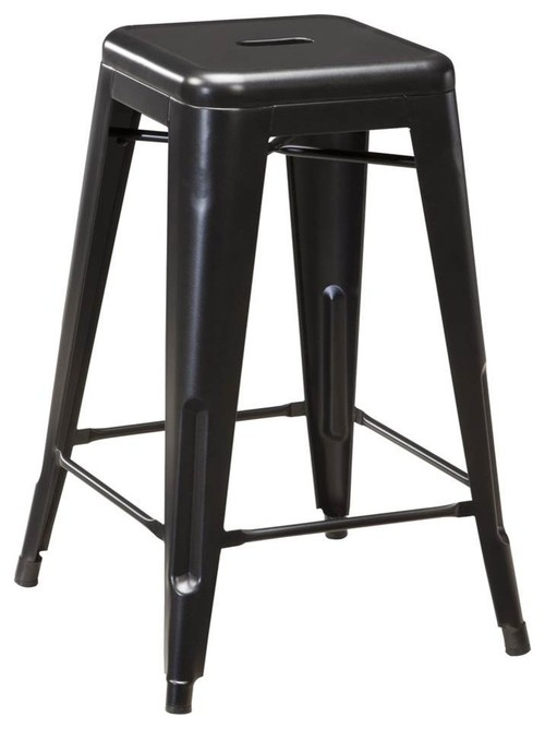 Ashley Furniture Pinnadel Stools, Gray, Set of 4