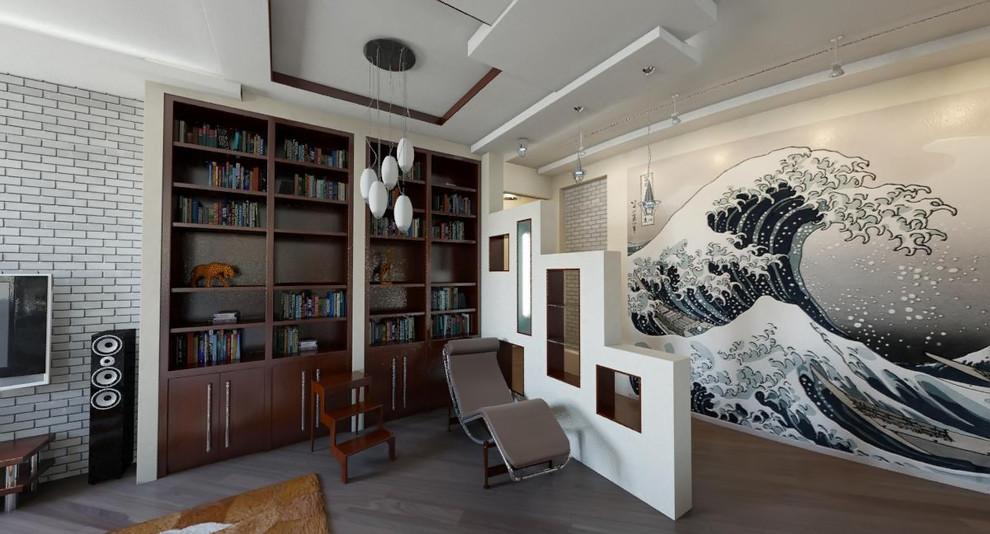 Лофт в Московской квартире.