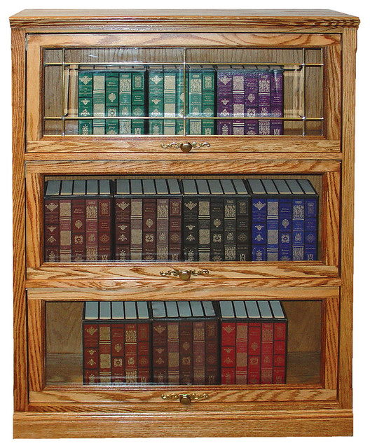 Traditional Lawyers Bookcase (4 Doors).