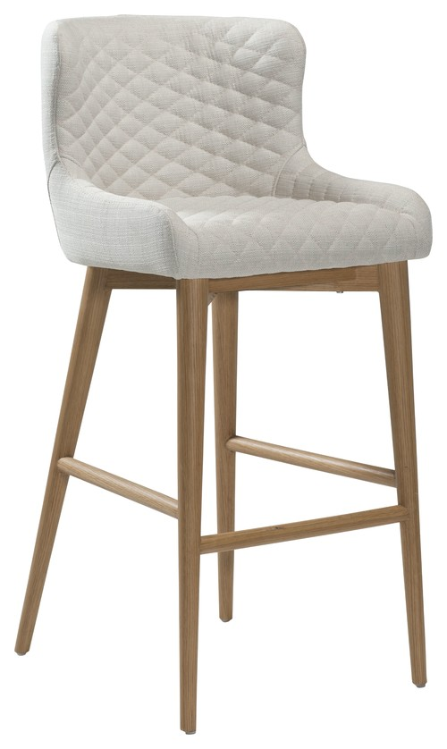 Vetro Upholstered Bar Stool With Wooden Legs : scandinavian bar stools and kitchen stools from www.houzz.co.uk size 500 x 838 jpeg 53kB