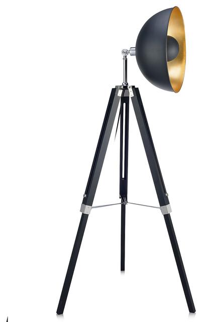 by teamson versanora fascino tripod floor lamp floor lamps houzz. Black Bedroom Furniture Sets. Home Design Ideas
