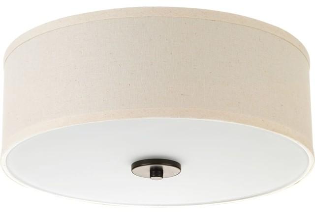 Progress Lighting P3696-Led Inspire Light Led Flush Mount Drum Ceiling Fixture.