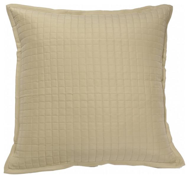 Silk Ready To Bed Quilted Sham Transitional