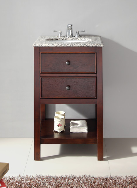 Shop Houzz | WyndenHall New Haven Walnut Brown 20-inch ...