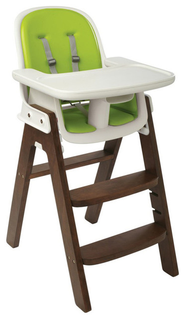 Oxo Tot Sprout Chair Green Walnut
