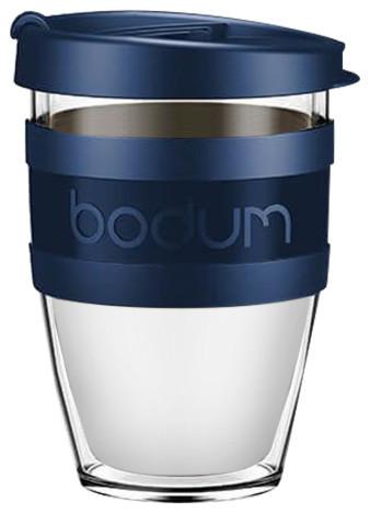 Bodum Joycup Travel Mug, 300 ml., Petrol Blue