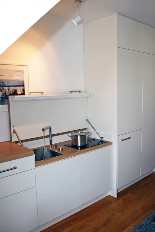 Küche auf kleinstem Raum
