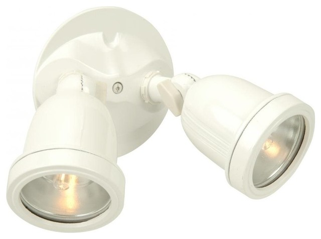 Contractor 2 Light Bullet With Bulbs Included Transitional Outdoor Wall  Lights