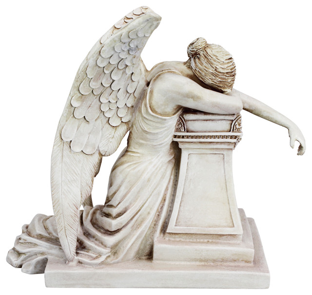 Desktop Weeping Angel Monument Victorian Garden Statues And Yard