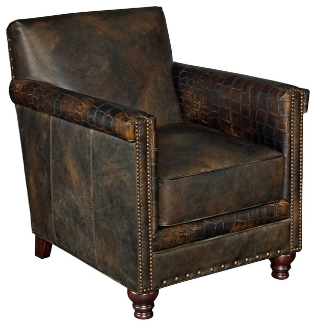 Furniture Old Saddle Club Chair Fudge Armchairs And Accent Chairs