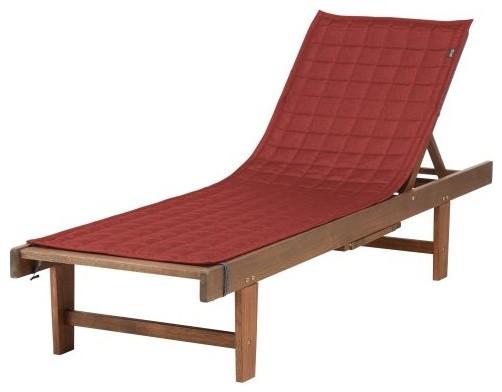 Montlake Fadesafe Patio Chaise Lounge Slipcover 72 X 21
