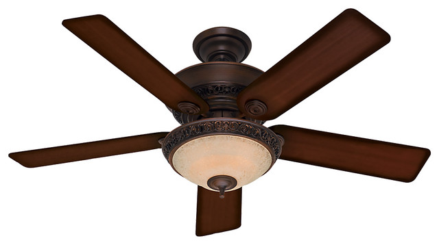 Italian Countryside Cocoa Ceiling Fan With Light, 52.