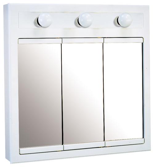 Concord 3 Light Medicine Cabinet White Gloss Finish · More Info