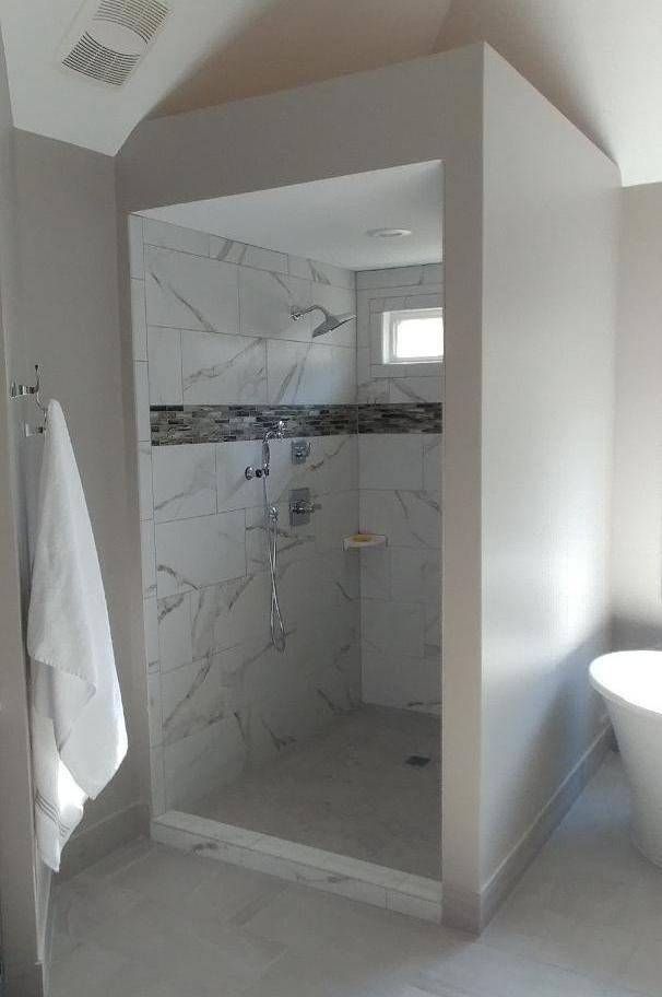 Sleek Master Bath