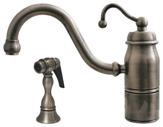 Beluga Single Handle Faucet Rustic Kitchen Faucets