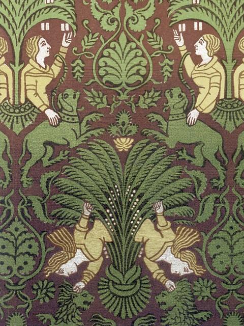 Tile Mural People Mythological Figures Hunting Scenes Vivid, 6x8, Matte by FlekmanArt Tile Mural Hub