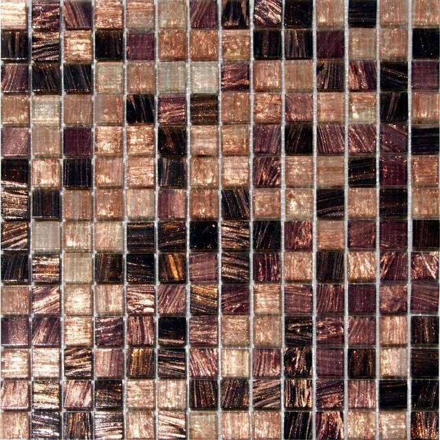 Treasure Trail Iridescent Mosaic Gl Tile Chip Size 3 4 X3 Sample