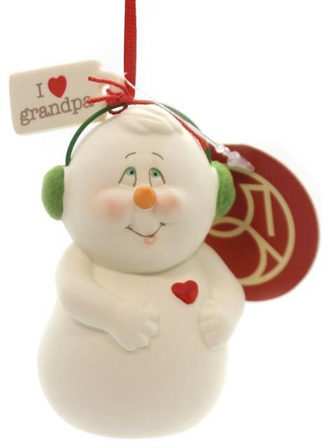 "5/"" Department 56 Christmas World Cardinal in Teardrop Hanging Ornament"
