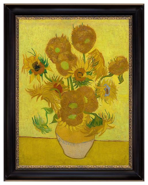 Vincent Van Gogh Still Life Vase With Fifteen Sunflowers 1888 Canvas Art Print