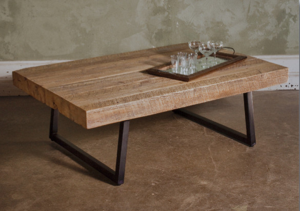 Reclaimed Timber Contempo Coffee Table contemporary - Reclaimed Timber Contempo Coffee Table - Contemporary