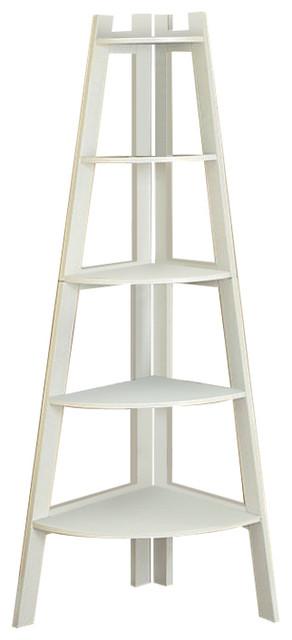 Ladder Shelf, White.
