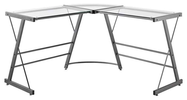 Group Line Marketing Llc Metal Frame With Glass Top L