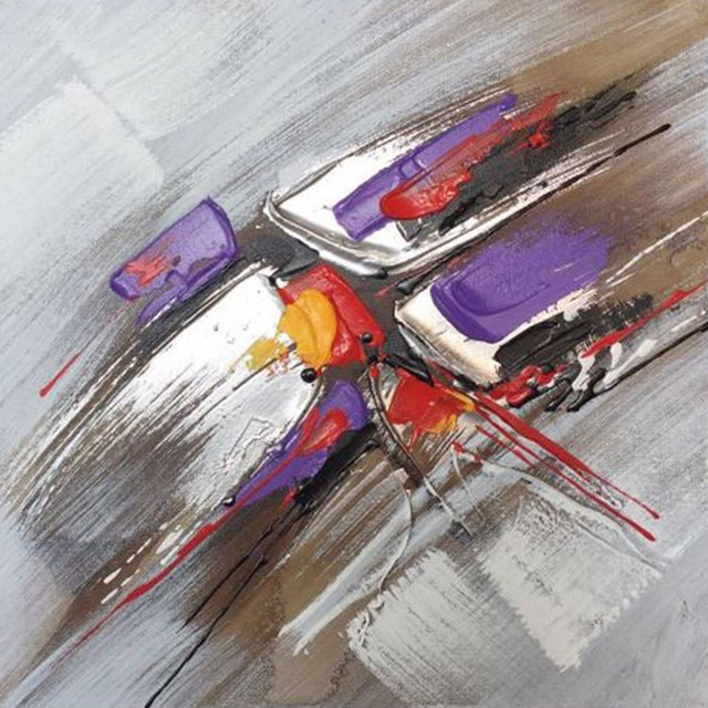 Wall Decor Painting Highway Traffic Abstract