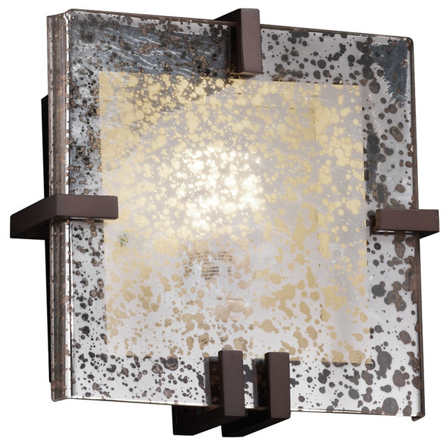 Fusion 1-Light Wall Sconce, Dark Bronze - Transitional - Wall Sconces - by Lighting New York