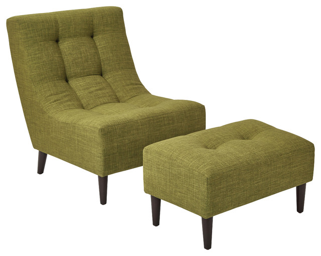 Hudson Chair Green Midcentury Armchairs And Accent