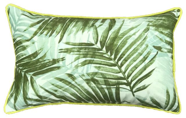 Miami Outdoor Throw Pillow Tropical Outdoor Cushions And Pillows