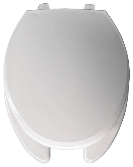 Awesome Bemis 7650T 000 Hospitality Plastic Elongated Toilet Seat White Andrewgaddart Wooden Chair Designs For Living Room Andrewgaddartcom