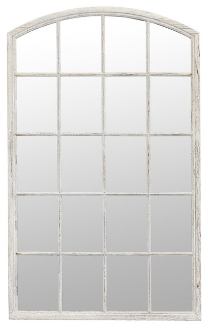 "Earlham Recycled Pine Wall Mirror, 44""x71""."