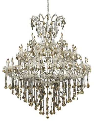 Elegant Lighting 2800G60C-GT Maria Theresa 49-Light 3 Tier Crystal Chandelier traditional-  sc 1 st  Houzz & Elegant Lighting 2800G60C-GT Maria Theresa 49-Light Three-Tier ... azcodes.com