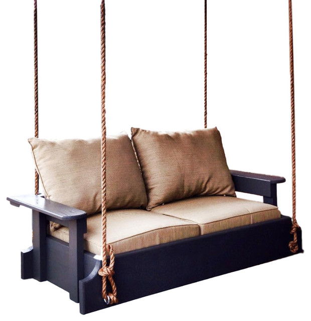 Mini Bed Swing, White Washed.
