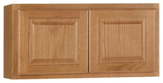 Wall Cabinet, Oak, 30x35.