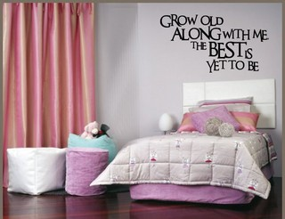 Vinyl Disorder Inc Grow Old Along With Me Vinyl Wall Decal ...