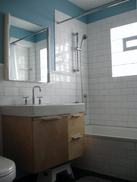 Chicago Bungalow Bath Remodel - AFTER