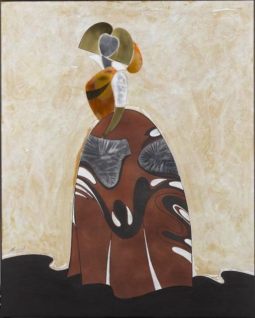 """dama Beige Moragon"" Painting By Joan Moragon."