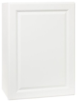 Rsi Home Products Kitchen Wall Cabinet, Fully Assembled, Raised Panel, White.