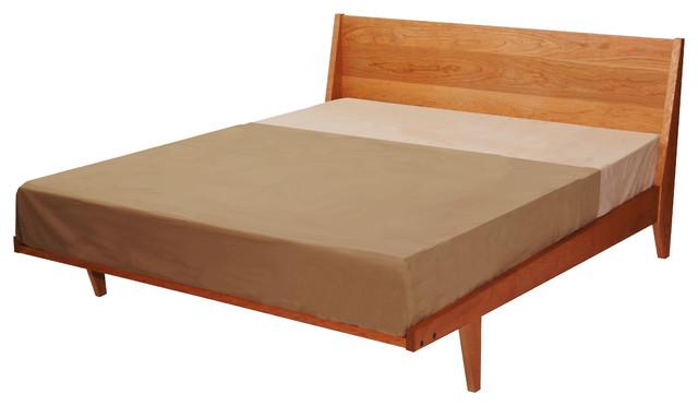 Modern Platform Bed Midcentury Platform Beds by TY Fine