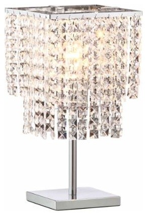 Pure Falling Stars 1-Light Table Lamp.