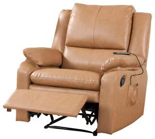 pilaster designs light brown vinyl leather massage. Black Bedroom Furniture Sets. Home Design Ideas