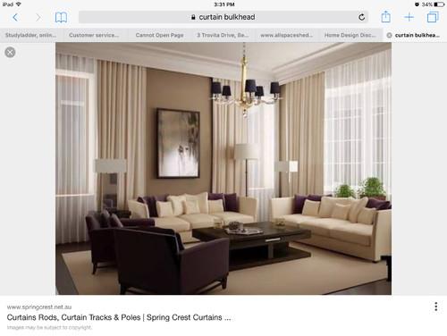 crest home design curtains.  Curtain help