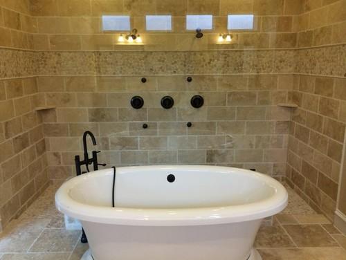 New bathroom spa theme design advice for Spa themed bathroom ideas